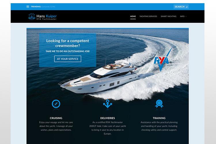 Hans Kuiper - RYA Yachtmaster