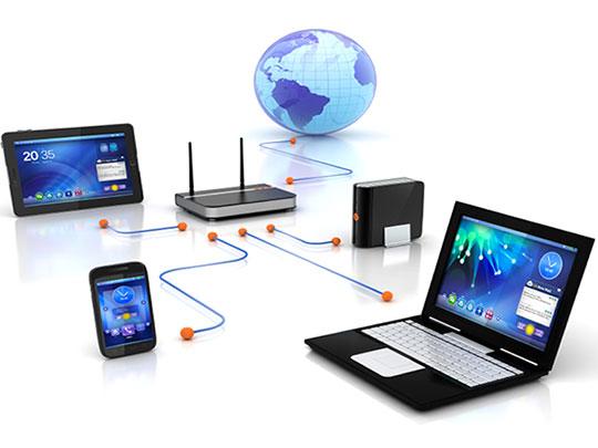 IT-netwerk; Alle randapparatuur werkt prima samen met de NAS server