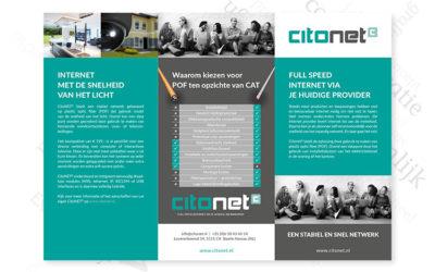 Een DIN large folder voor CitoNET
