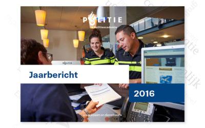Jaarbericht 2016 Politieacademie