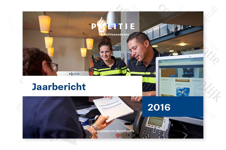 Jaarbericht Politieacademie 2016